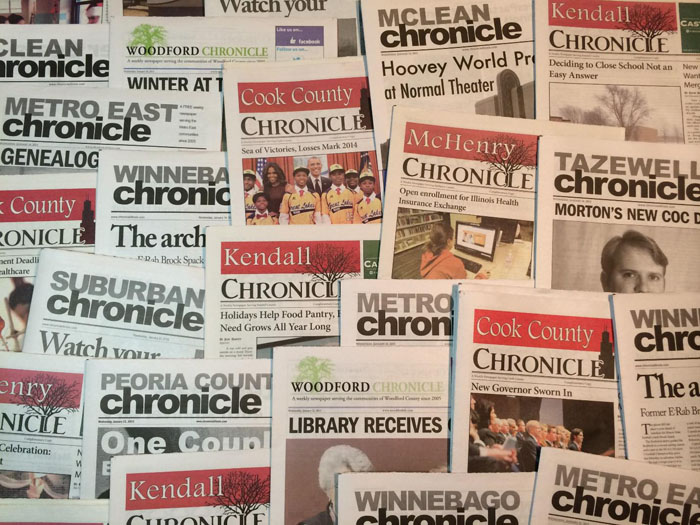 Chronicle Media Newspapers