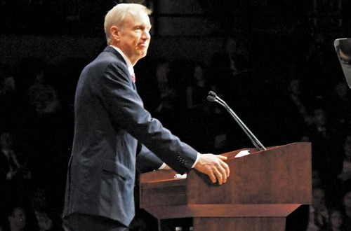 Unions contend governor attacking middle class