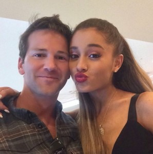 Rep. Aaron Schock (R-IL) with singer Ariana Grande.