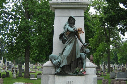 Day to honor laborers owes much to Forest Home Cemetery