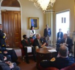 Durbin meets with Illinois fire chiefs