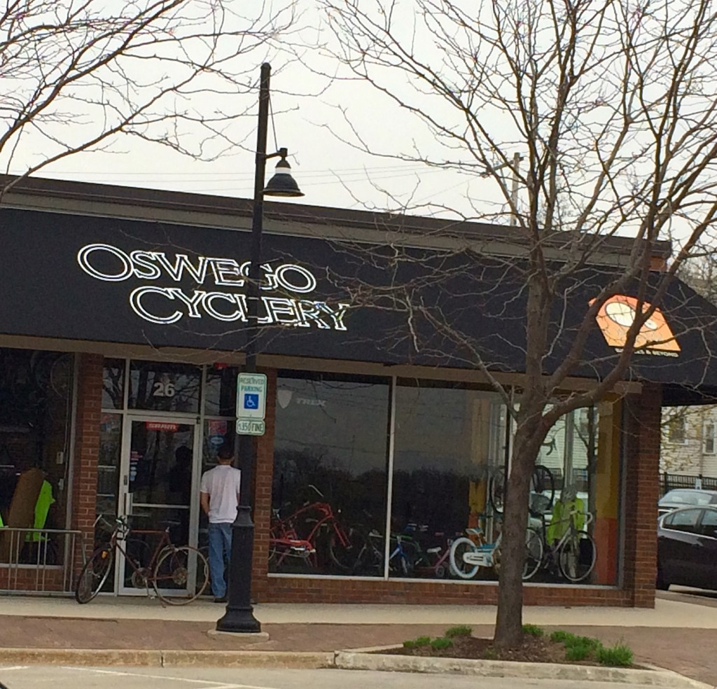 Illinois kendall county oswego - Oswego Cyclery Is Getting Some Financial Assistance From The Village To Renovate The Old Fire Barn