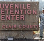 Scott Airmen mentor youth at county juvenile detention