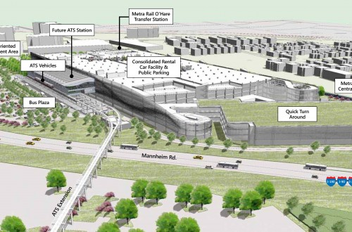 Ground broken on Intermodal facility at O'Hare International Airport