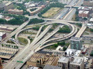 Among the projects in the plan are $351 million for the ongoing Jane Byrne Interchange reconstruction in Chicago. Photo by Stratosphere