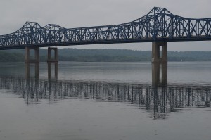 Among the projects in the plan are $196.6 million to replace the eastbound U.S. 150 bridge over the Illinois River in Peoria.  Photo by ProfDEH