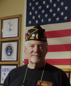 Tim Conrardy has been commander of American Legion Post 489 for five years. He has been a member for more than 20 years.  credit: Photo by Judy Harvey