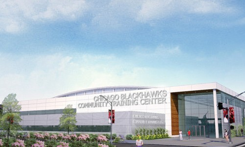 Blackhawks to build community training center