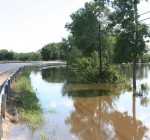Heavy rains bring flood warning for McLean County