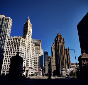 Chicago's Magnificent Mile. Photo by Charles Voogd