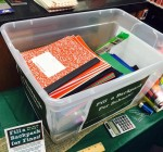 Normal Library swaps out fines for school supplies