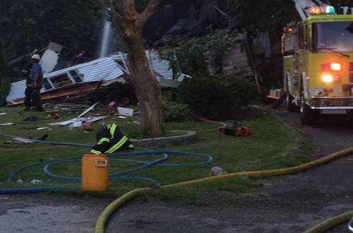 Officials investigate home explosion in rural St. Clair County