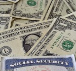 How far does Social Security go in Woodford County?