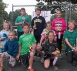 Woodford youth participate in bicycle rodeo
