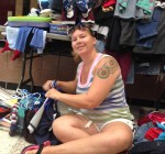 Women rehome items for those in need