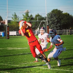 Batavia High School rarely conducts live tackle practices, according to coach Dennis Prion,  who also is a member of the Illinois Advisory Council on Player Safety. He and other coaches say the prep football game is doing all it can to make student athletes safe.  (Photo: Batavia High School)