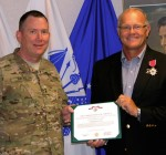 Eureka guardsman honored for service