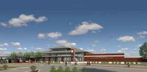 Architect's rendering of the new Alton Regional Multimodal Transportation Center (RMTC). (Photo courtesy city of Alton)