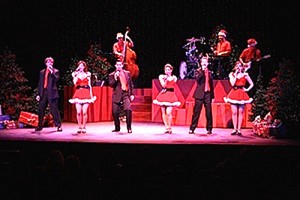 """The Bloomington Center for the Performing Arts has added, """"Jingle Bell Rock: A Raucous Holiday Variety Revue,"""" to its holiday lineup.  The show will be held at 7:30 p.m. Dec. 18.  For ticket information, go to www.artsblooming.org.  (Photo from BCPA)"""