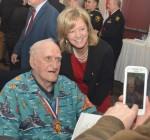 Pearl Harbor survivor, Elgin resident, attends Rotary event