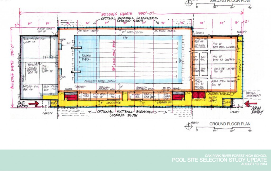 a plan for 375 million olympic sized swimming pool at oak park and river forest - Olympic Swimming Pool 2014