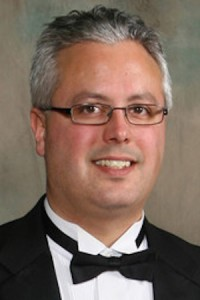 Yorkville High School Music Director Victor Anderson
