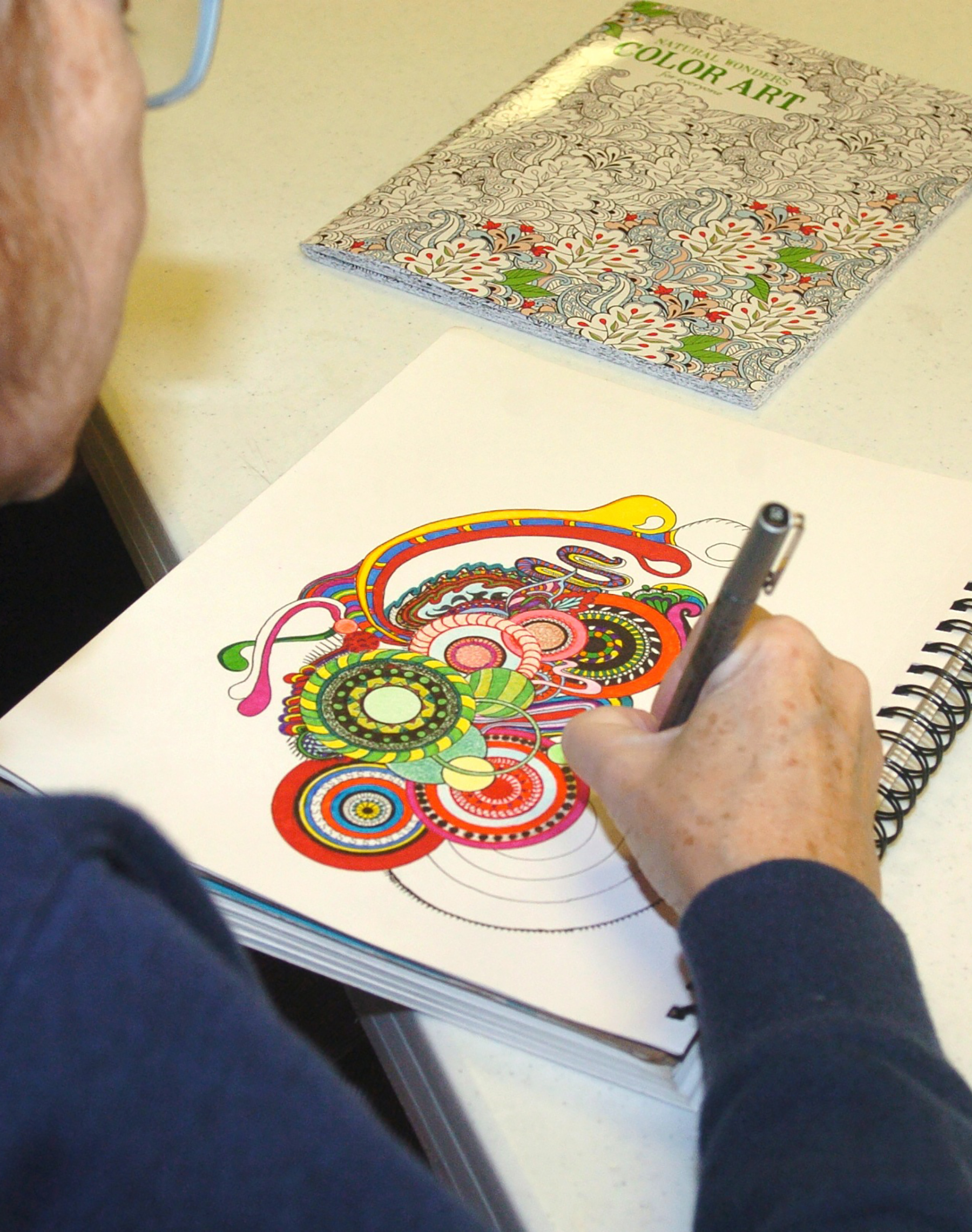 Coloring Book Craze Embraced By Peoria Area Adults
