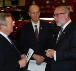 Durbin, Foster push oil tanker safety in Aurora appearance
