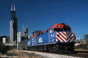 Metra plans to rotate the 11 Wi-Fi cars among each of its lines throughout the six-month pilot program. (Photo utc.uic.edu)