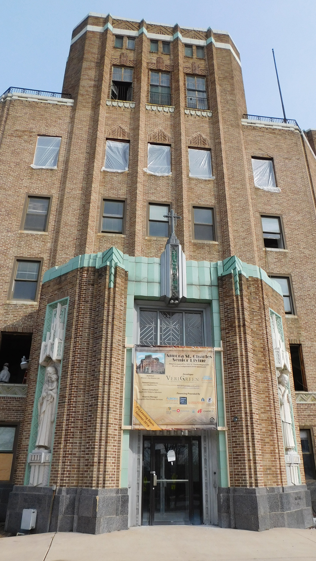 St Charles Hospital being converted into senior living units