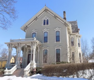 Elgin, is a great example of historical districts done right, according to Mary Lu Seidel, field director in the Chicago Field Office of the National Trust for Historic Preservation. (Chronicle Media Photo by Jack McCarthy)