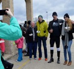High-heeled walk helps raise funds for Safe Passage