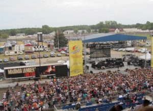 Rock legends Pat Benatar and Melissa Etheridge will be drawing crowds to the Illinois State Fair grandstands in August. (Photo courtesy of the Illinois State Fair Museum)