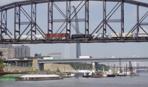 The St. Louis Regional Freightway, a subsidiary of the Bi-State Development Agency, will be working with both private and government agencies for developing the Greater St. Louis area as a national multi-modal freight center. (Photo courtesy Bi-State Development Agency)