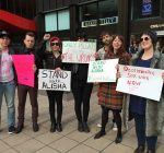 Sex workers protest in Chicago changes in French laws