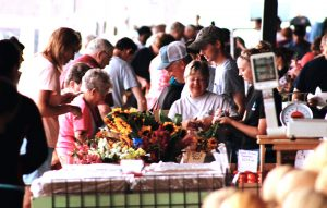 The Peoria Farmers Market at the Metro Centre was founded in 1977. It runs May through October. (Photo courtesy Peoria Metro Centre)