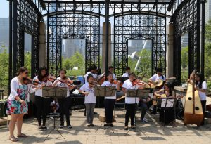 Make Music Chicago will feature performances at Millennium Park's Wrigley Square, Maggie Daley Park Pritzker Pavilion,Chicago Riverwalk, Symphony Center, and many more locations throughout the city.