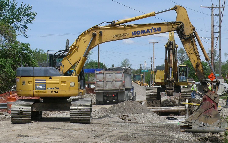 Highway Construction Materials : Summer heralds start of road construction in illinois