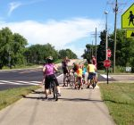 Pedestrians, bicyclists, motorists share Complete Streets