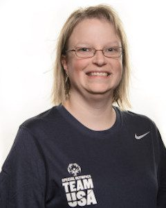 Jennifer Hitt of Edwardsville, 2016 Special Olympics Illinois' Coach of the Year