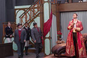 """Illinois Shakespeare Festival is putting a 20th century spin on Shakespeare's classic comedy """"Twelfth Night.""""  This is the group's 39th season. (Photo courtesy Illinois Shakespeare Festival)"""