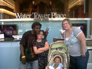 The Hoare family in Chicago.
