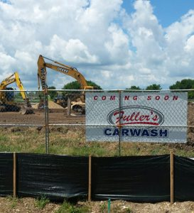 Construction is underway at Andy's Frozen Custard, which is expected to open in August at the intersection of Routes 30 and 34 near the LA Fitness in Oswego. (Photo by Erika Wurst/for Chronicle Media)