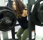 Women's powerlifter uses sport as healthy channel