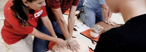 Nearly 2.3 million people a year take First Aid/CPR/AED training through the American Red Cross. (Photo courtesy American Red Cross)