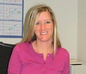 Staci Hoste, director and general manager of WNIJ 89.5 FM