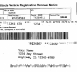Secretary of State asks to sell ads to pay for license-plate-renewal notices