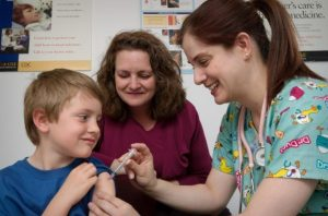 The Illinois Department of Public Health and the Illinois State Board of Education are reminding parents there are new vaccination requirements this year.  (Photo by Judy Schmidt)
