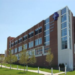 Advocate BroMenn Medical Center in Normal. Advocate Health Care in 2015 trained 276 community members of McLean or Woodford counties in mental health first aid and 104 in youth mental health first aid. (Photo courtesy of Advocate BroMenn)