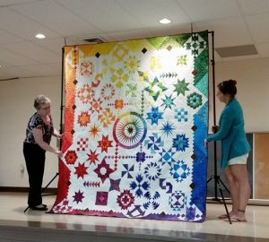 The Peoria Civic Center Hall will host the Gems of the Prairie Quilt Show on Aug. 27-28. (Photo courtesy of the Gem Prairie Quilt Show)